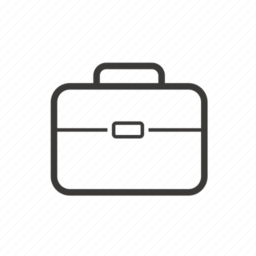 briefcase, business, equipment, finance, office icon