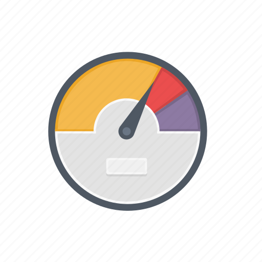 dashboard, energy, gauge, limit, measure, power, speed icon