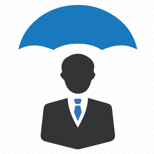 business, investment, protection, umbrella icon