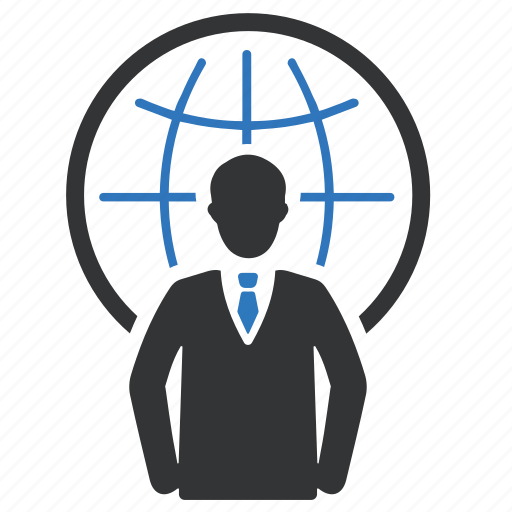 business, connection, global, global communication, network icon