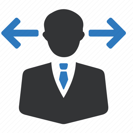 avatar, business, business man, decision, person, strategy, way icon