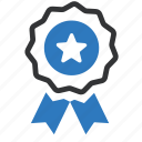 award, badge, medal, prize, reward, seal, winner icon