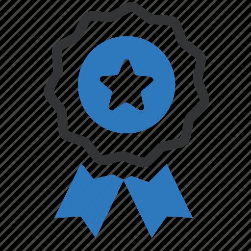 award, badge, medal, prize, reward, seal, winner icon
