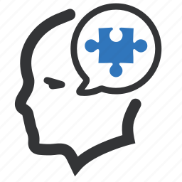 business, problem solving, puzzle, solution icon