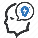 brainstorming, business, creativity, idea icon