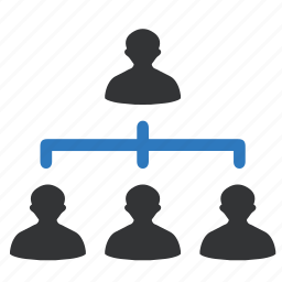 business hierarchy, hierarchy, management, network, structure icon