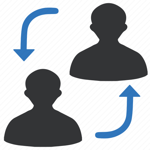 business, connect, network, office, relationship, workspace icon