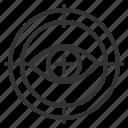 business, focused, financial, internet, marketing, seo icon
