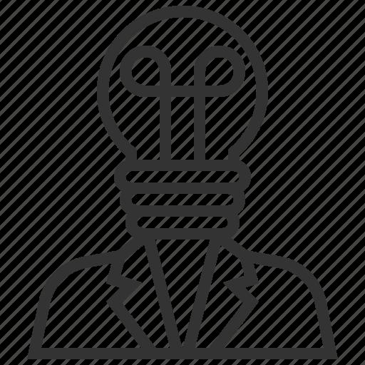 business, creative, financial, idea icon