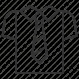 bank, business, finance, shirt icon