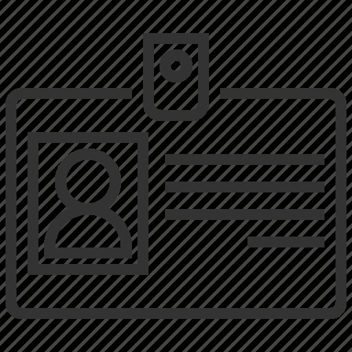 business, card, finance, id icon
