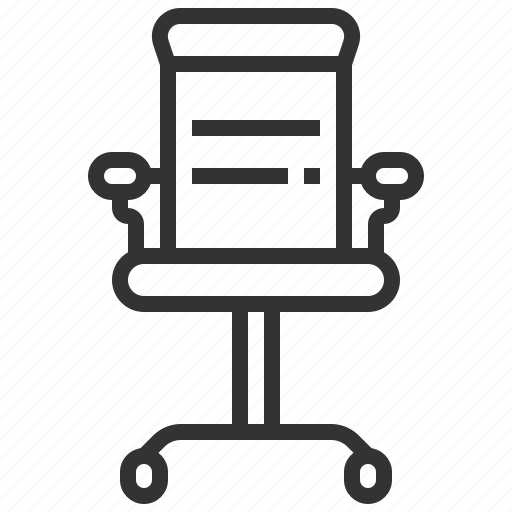 business, chair, finance, furniture, office icon