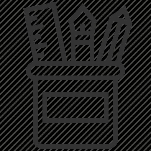 creative, financial, office, supplies icon