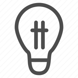 bulb, business, electricity, idea, light, news, office icon