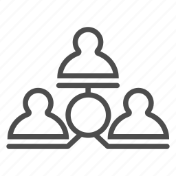 chain, communication, conference, internet, meeting, office, web icon