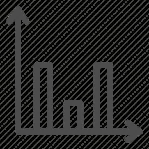 business, columns, economics, graph, money, office, schedule icon