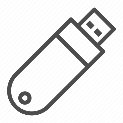 computer, device, driver, flash, memory, office, stationery icon