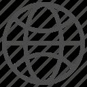 ball, earth, globe, gps, net, office, planet icon