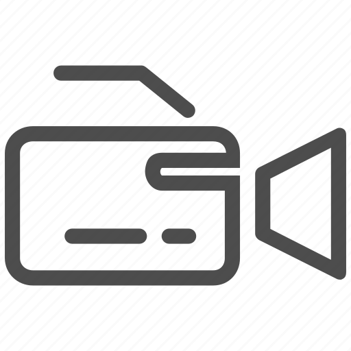camera, clip, device, digital, film, video, videocamera icon