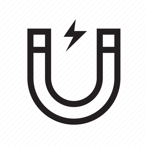 Attract, horseshoe, magnet, poles, spark, electric icon - Download on Iconfinder