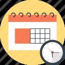 calendar, clock, date, event, plan, schedule, time