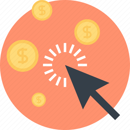 business, buy, click, commerce, finance, pay per click, seo icon