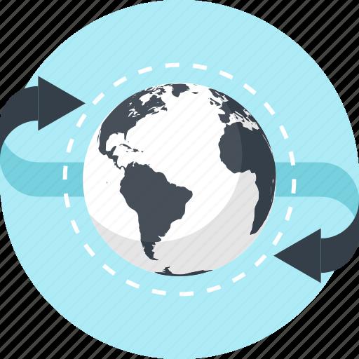 business, communication, earth, global, international, network, world icon