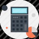 accounting, budget, calculate, calculator, chart, finance, math