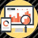 analysis, analytics, chart, computer, graph, monitoring, statistics