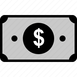 bill, business, dollar, online, sign, web icon