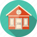 building, construction, courthouse, estate, exterior, facade, front, home, hotel, house, local, motel, property, small, structure, town, traditional, village icon