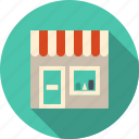 building, cafe, commerce, facade, fastfood, grocery, local, market, merchandise, product, restaurant, retail, service, shop, shopping, small, store, storefront icon