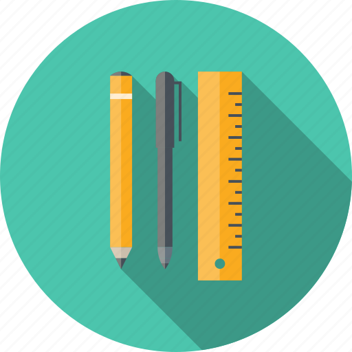 design, development, draw, drawing, education, equipment, geometry, graphic, illustration, instrument, instruments, learning, objects, office, pen, pencil, ruler, school, sketch, sketching, stuff, technical, tool, tools icon