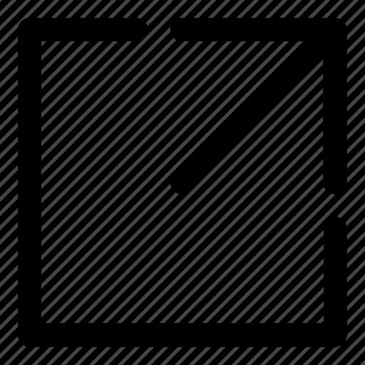 arrow, document, export, file, ios, share, social icon