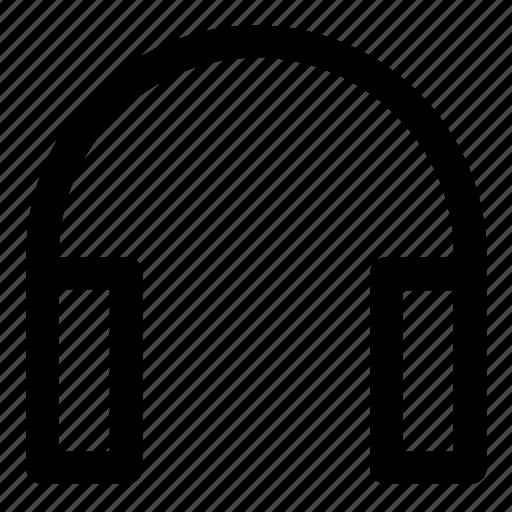 electronic, gadget, headphones, headset icon