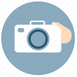 camera, hand, life, lifestyle, photo, selfie, touch icon