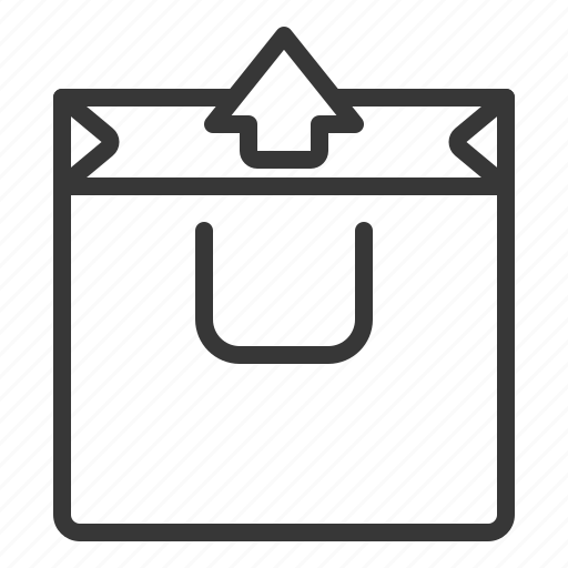 business, out, shopping, unpack icon