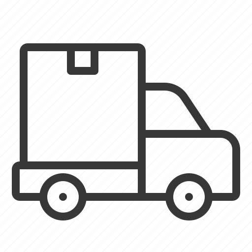 business, delivery, transport, transportation, truck icon