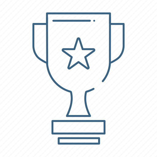award, cup, marketing, office icon