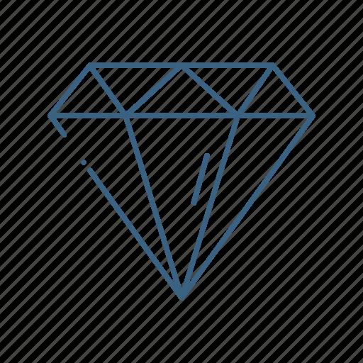 business, diamond, finance, marketing icon