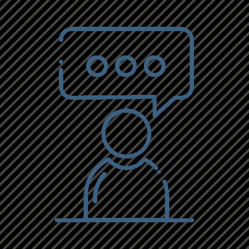 avatar, chart, man, profile, user icon