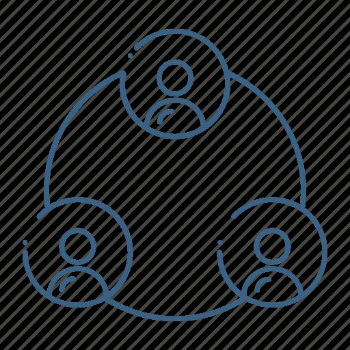avatar, communication, network, user icon