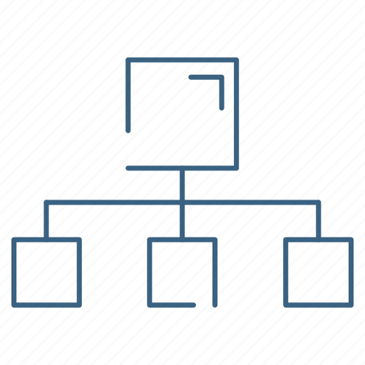 connectivity, database, network, server icon
