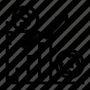 business, chart, finance, money, recession, report, statistics icon