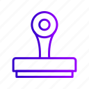 mark, paper, postage, stamp icon