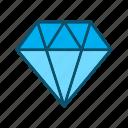 diamond, jewel, jewelry