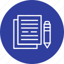 document, documentation, documents, file icon