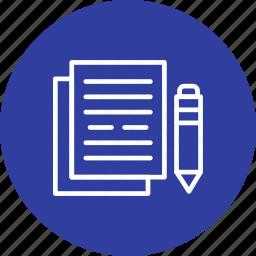 business, document, documentation, documents icon