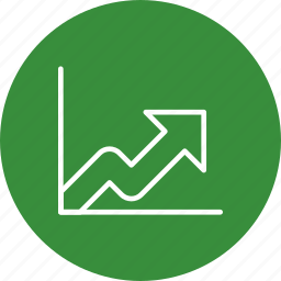 analysis, diagram, growth, presentation, statistics icon