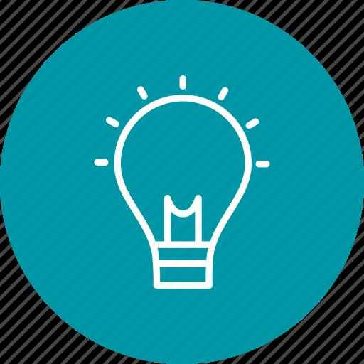 bulb, concept, creativity, idea icon